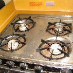 the stove (yuck!!)
