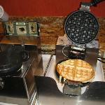 Waffle maker, different flavors everyday