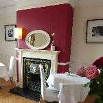 Oakthwaite House Breakfast room