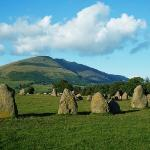Castlerigg stone circle 1hour walk away from Oakthwaite