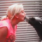 cheeky little kiss