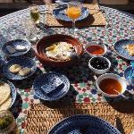 petit déjeuner TRES copieux et savoureux