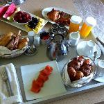 Breakfast in the suite - a wonderful!!!