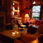 The library at Covent Garden Hotel