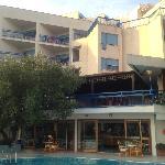 facciata esterna hotel
