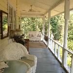 The lovely porch.