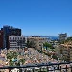vista desde la terraza,Benalmadena Costa