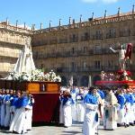 Última Procissão da Semana Santa na Plaza Mayor