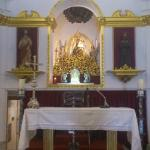 The Inside of the little church