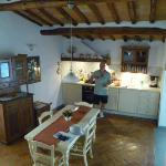 Our fabulous Kitchen - very rustic and spacious!