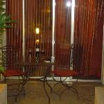 La terrasse privée de la chambre 101