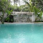 vattenfall och pool