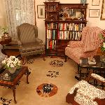 Front parlor of the Westchester House B&B
