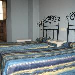 Habitacion 2 camas vistas plaza
