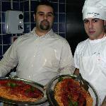 Aniello e Domenico alle prese con l' Astice