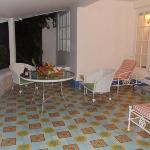 balcony at private villa CSS