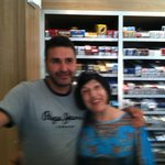 Jean Francois and his mom, Janette (sorry a bit fuzzy)