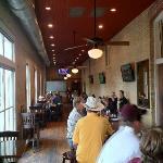 Bar and main restaurant view