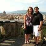 Picture from the terrace at Piazzi Michel Angelo