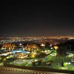 View from Jebel Hafeet over Al Ain Town