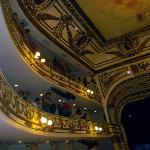 Upper balconies, taken at a recent Lila Downs concert