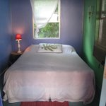 Treetop Garden Retreat in The Lotus. Sometimes rented to travelers as a $60 budget room