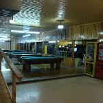Pool Tables in the Playhouse