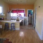 open plan kitchen & living area in The Lotus vacation rental