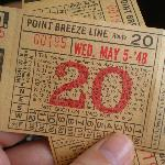 Vintage tickets you can take home