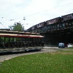 Baltimore Streetcar Museum--under the CSX tracks (still in use)