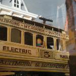 Baltimore Streetcar Museum diorama