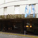 front entrance to hotel riviera