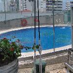piscina del hotel Decapolis