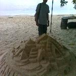 Sand Castle, just like in boracay...