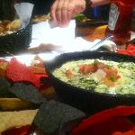 Had the artichoke dip fof and indulgant meal, very good and more than I could eat!