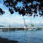 Le wharf devant le