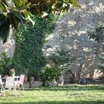 Las Moradas del Unicornio garden