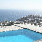 pool view to Kastro