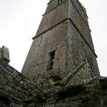 Internal view of Quin Friary Tower