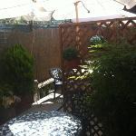 piccolo giardino esterno