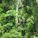 More ziplining