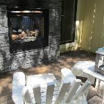Dual fireplace