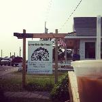 Outside Live Oak Coffee