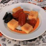Dessert is always served with Zanettos meze.