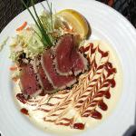Seared Tuna with Fabulous Sauce