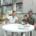 mahesj, his daughter and grandson