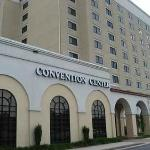 The outside of the Embassy Suites