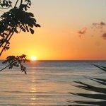 Amazing sunset from veranda