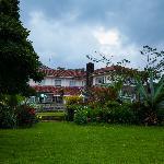 Tea Hotel from the garden