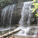 One of many waterfalls on Glen Onoko Falls trail